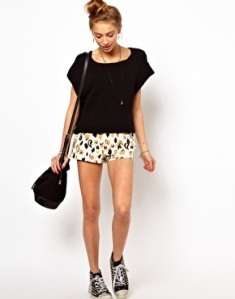 Insight Animal Print Shorts
