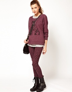 Vero Moda Animal Print Jeggings