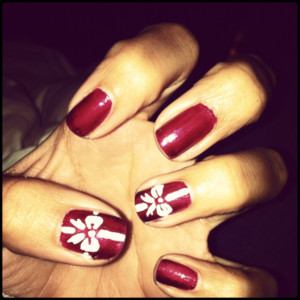 Christmas Nail Art Random Ramblings